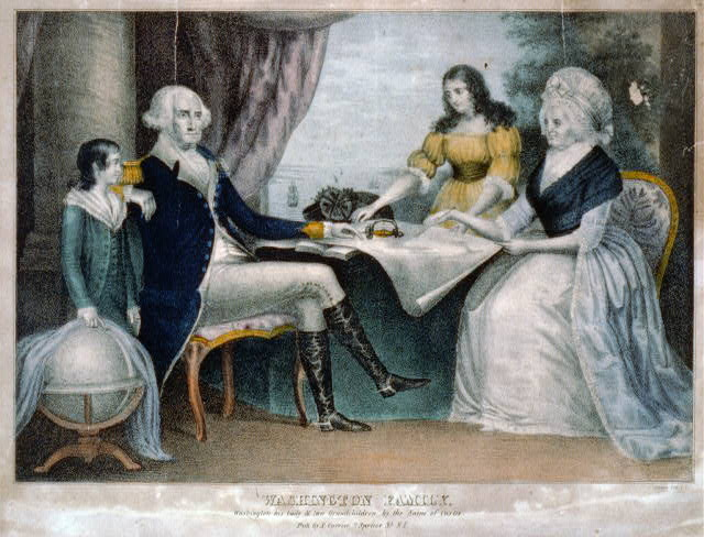 Washington family: Washington his lady & two grandchildren by the name of Custis