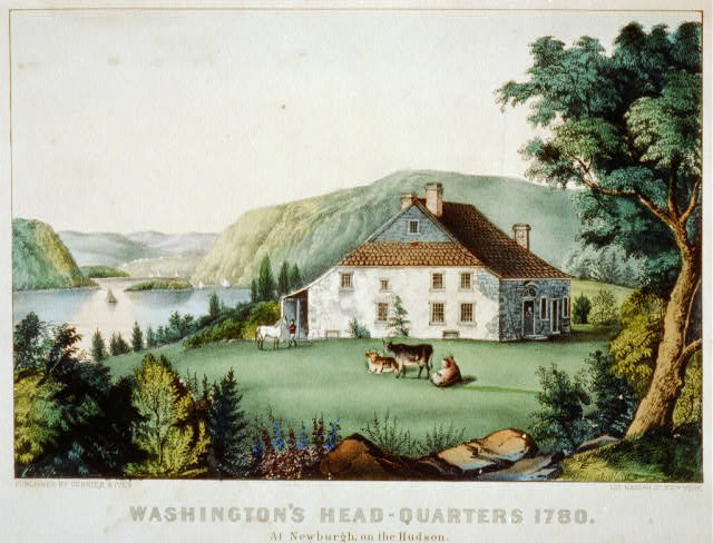 Washington's head-quarters 1780: at Newburgh, on the Hudson