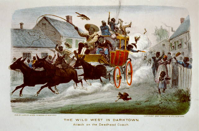 The wild west in darktown: attack on the deadhead coach