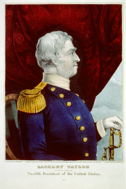 Zachary Taylor: the nation's choice for twelfth president of the United States
