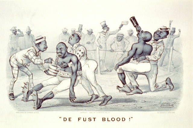 """De fust blood!"""