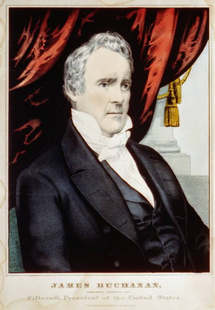 James Buchanan: Democratic candidate for fifteenth President of the United States