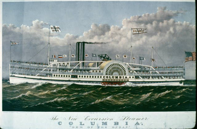 "The new excursion steamer Columbia: ""gem of the ocean"""