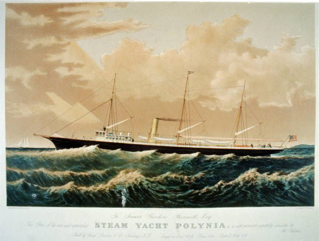 Steam yacht Polynia