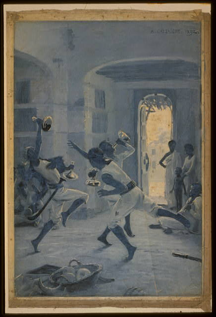 [The dance of the groomsmen, Adowa]