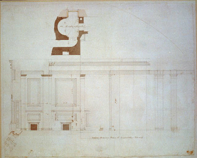 [United States Capitol, Washington, D.C. South platform, House of Representatives, gallery plan]