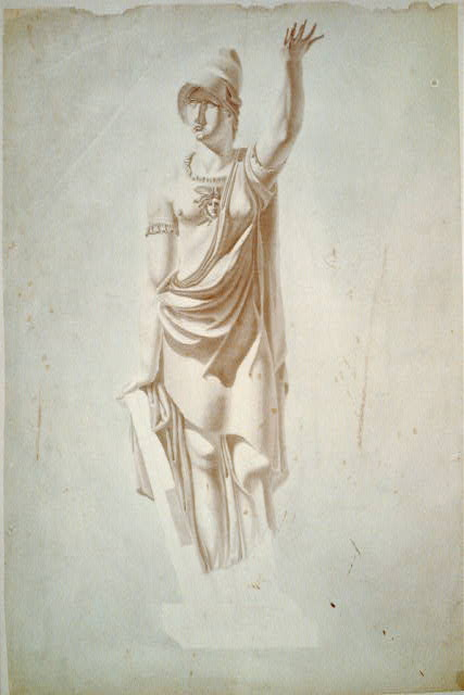 [United States Capitol, Washington, D.C. Architectural sculpture, allegorical figure]