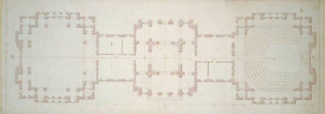 [United States Capitol, Washington, D.C. Ground floor plan]
