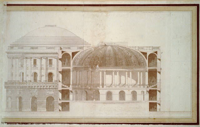 "[United States Capitol (""Federal Capitol""), Washington, D.C. Cross section]"