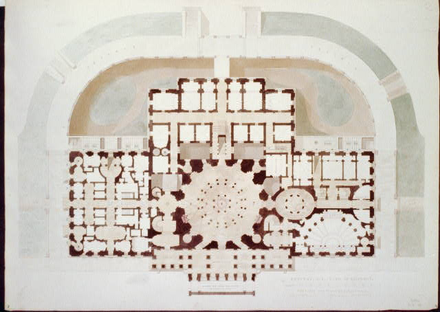 [United States Capitol, Washington, D.C. Basement floor plan]