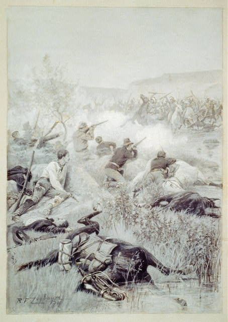 [Defeat of Roman Nose by Colonel Forsyth]