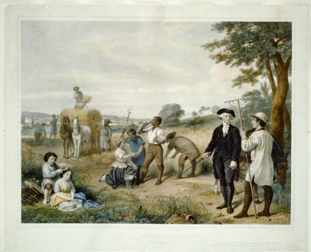 Life of George Washington--The farmer