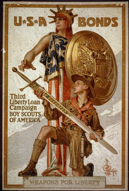 Boy Scouts of America - Weapons for liberty