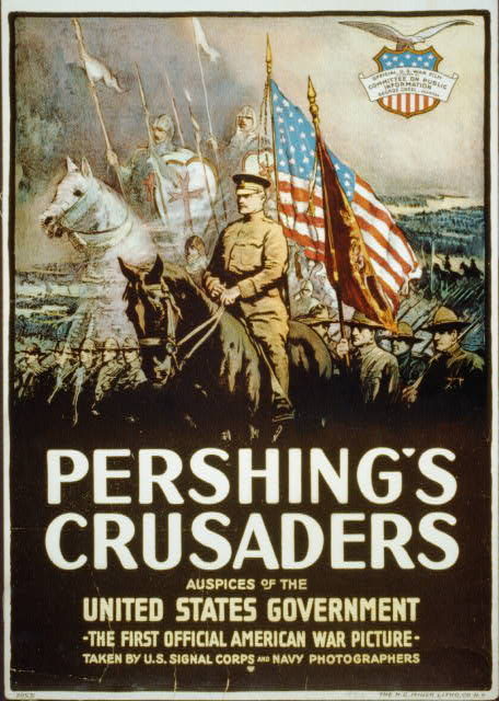 Pershing's crusaders--Auspices of the United States government