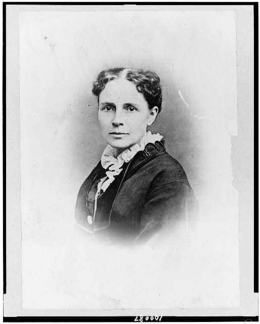 [Mrs. James A. Garfield, head-and-shoulders portrait, facing slightly left]