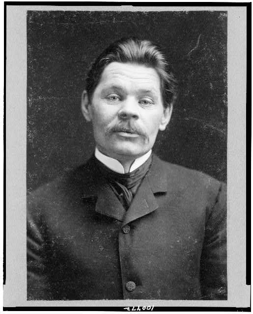 [Maxim Gorky, half-length portrait, facing front]
