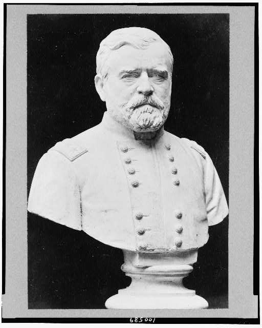 [Ulysses S. Grant, bust sculpture, facing slightly right]
