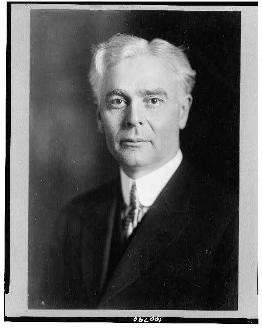 [Ole Hanson, mayor of Seattle, Washington, head-and-shoulders portrait, facing slightly left]
