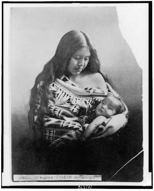 Oregon's Indian Madonna