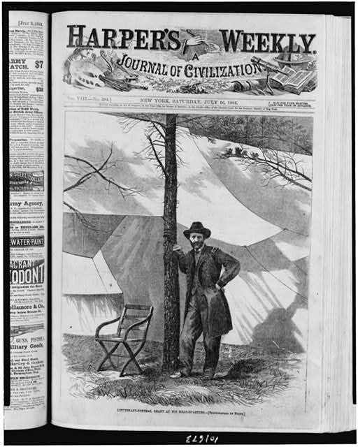 Lieutenant-General Grant at his head-quarters
