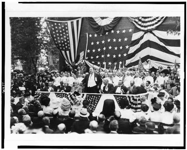 Celebration at Bull Run, July 21, 1911