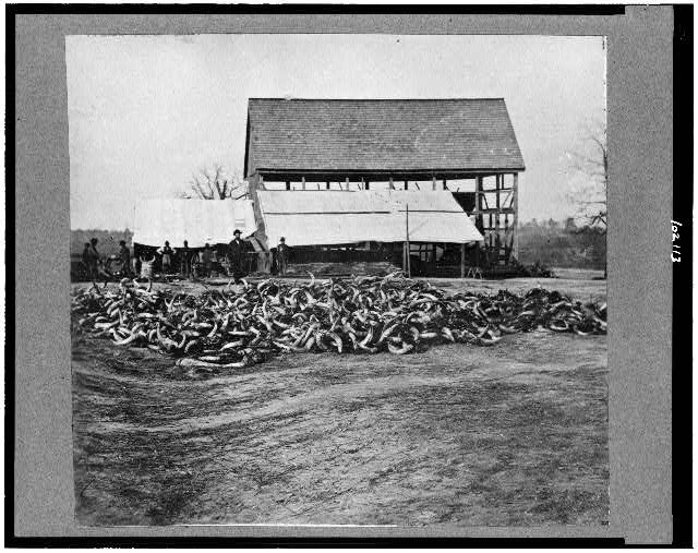[Depot of the Commissary, Cedar Level, Virginia]