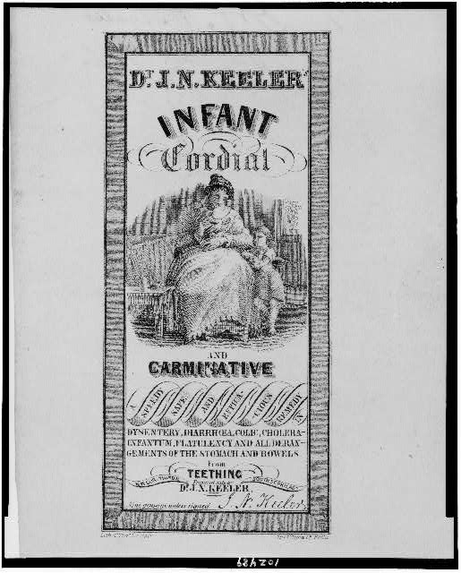 Dr. J.N. Keeler's infant cordial and carminative