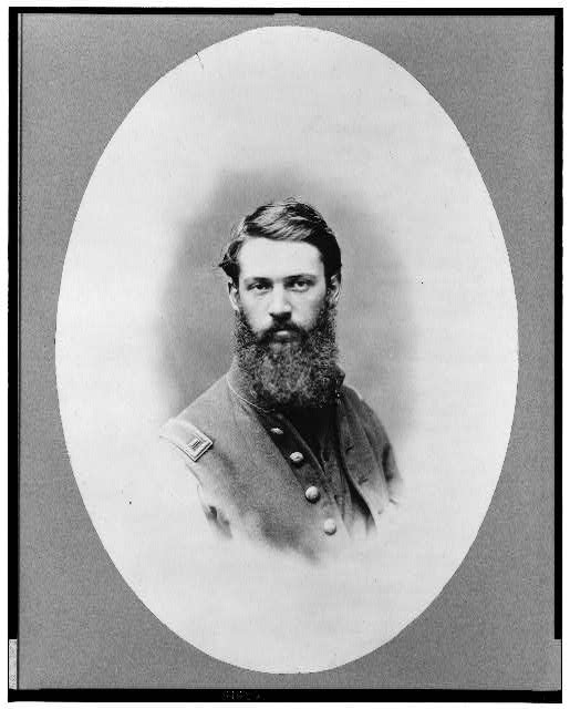 [J.M. Schoonmaker, half-length portrait, facing front, in Union uniform]