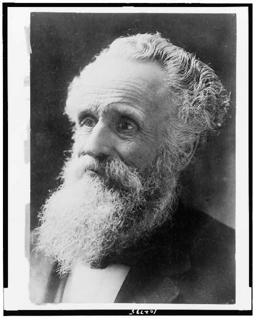 [George W. Glover, Mary Baker Eddy's son, head-and-shoulders portrait, facing left]