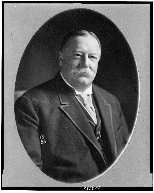 [William Howard Taft, half-length portrait, facing right]
