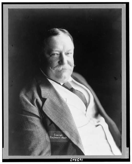 [President William H. Taft, half-length portrait, facing right]