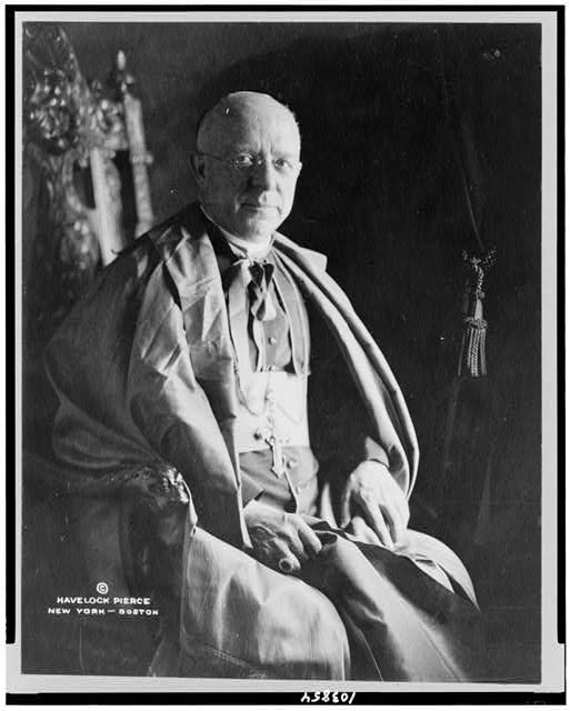 [Archbishop Dowling, three-quarter length portrait, seated, facing slightly right]