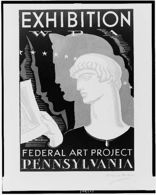 Exhibition WPA Federal Art Project Pennsylvania /