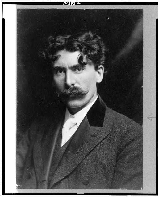 [Ernest Thompson Seton, head-and-shoulders portrait, facing slightly left]