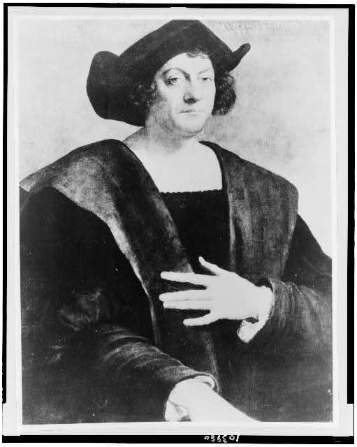 [Christopher Columbus, half-length portrait, facing slightly right]