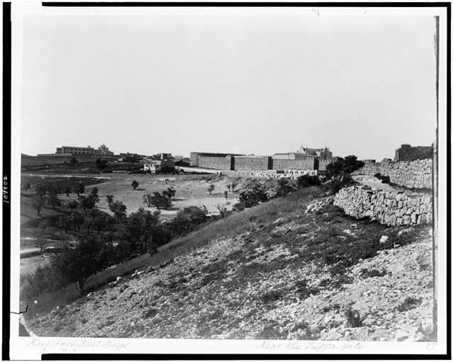 [Near the Jaffa gate]