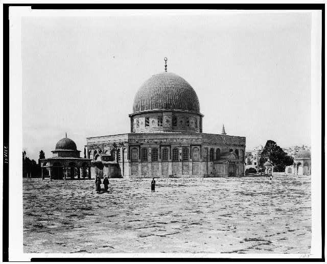 [Dome of the Chain - Dome of the Rock]