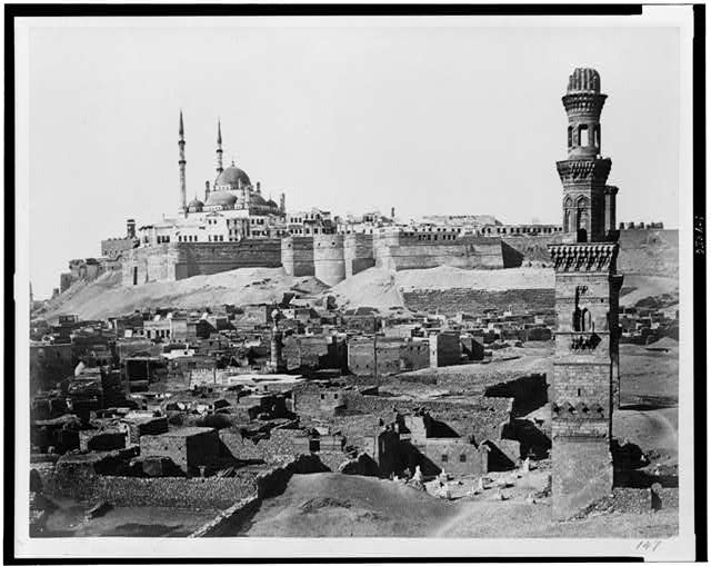 Cairo. Citadel and tombs