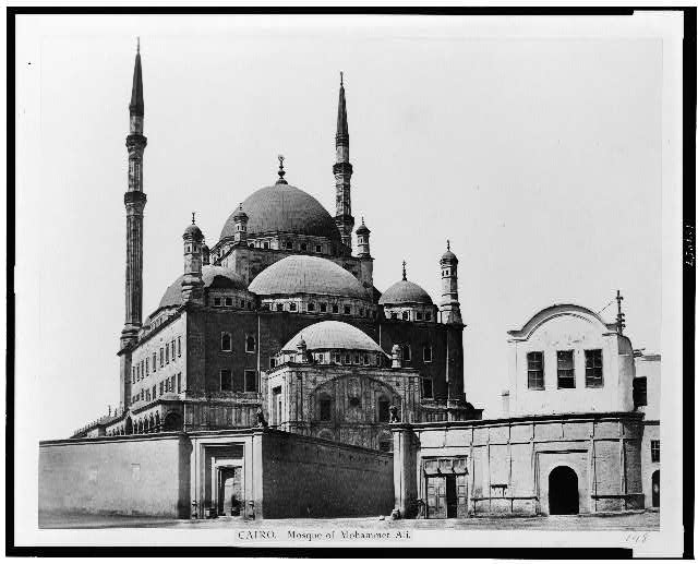 Cairo. Mosque of Mohammet Ali