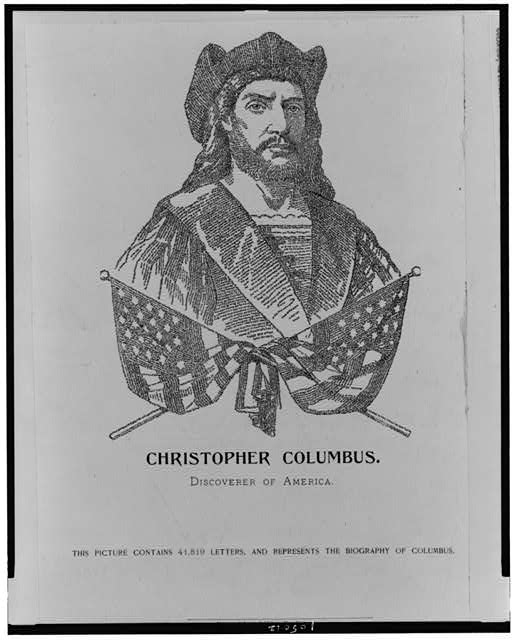 Christopher Columbus. Discoverer of America