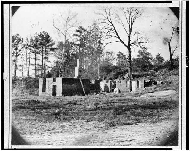 Ruins of Gaines' Mill, Va.