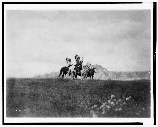 [The plains of the Dakota--Sioux]
