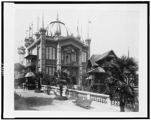 [Pavilion of Chile, Paris Exposition, 1889]