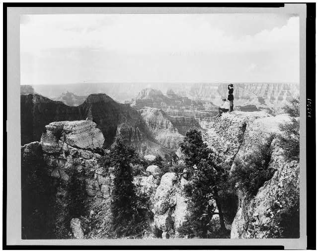[The Grand Canyon, Arizona, from Bright Angel Point]