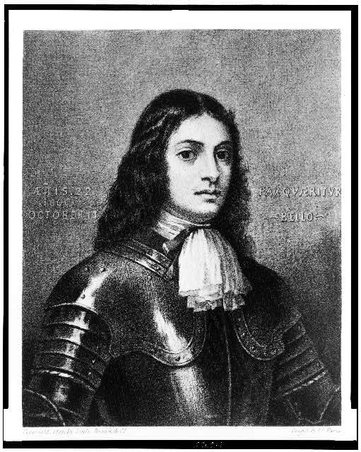 [William Penn, half-length portrait, facing right]