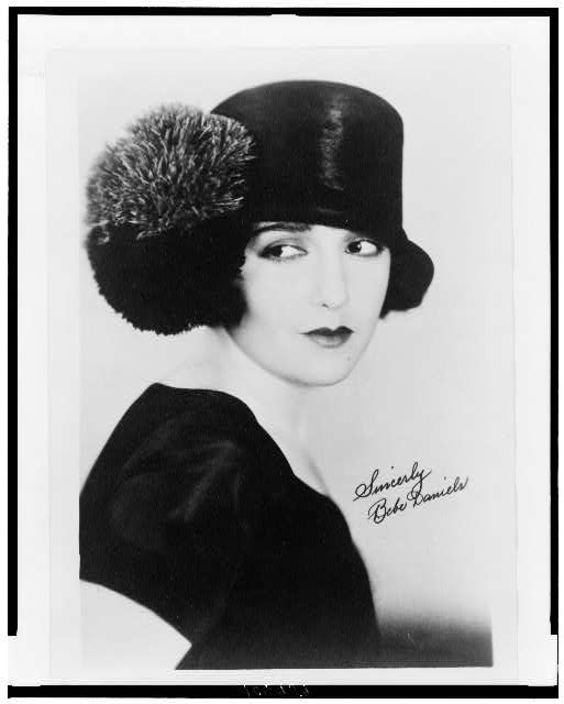 [Bebe Daniels, head-and-shoulders portrait, facing front]