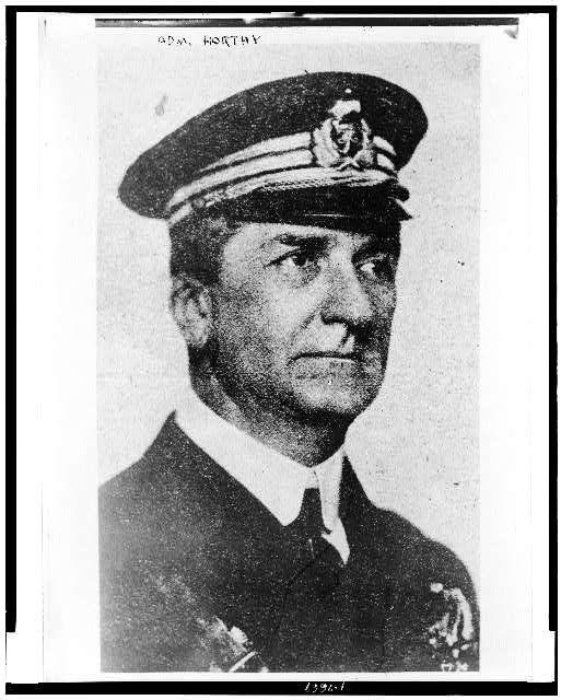 Admiral Horthy, head of Hungarian Gov't.