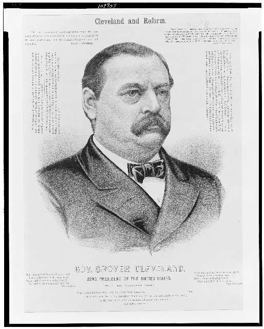 Gov. Grover Cleveland, 22nd President of the United States - Cleveland and reform