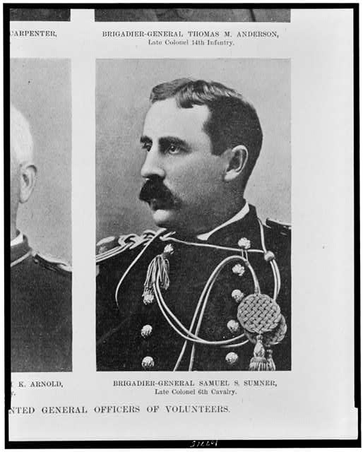 Recent promotions in the U.S. Army-newly appointed general officers of volunteers.  Brigadier-General Samuel S. Sumner, late colonel 6th Cavalry