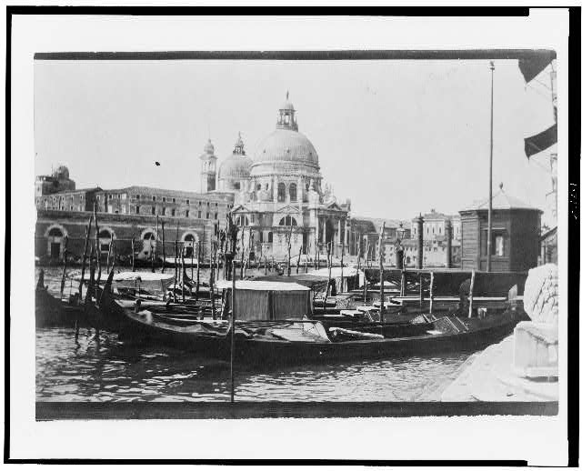 [The Grand Canal and Santa Maria della Salute, Venice, Italy]